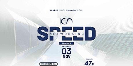 KCN Speed Networking Online Zona Norte 03 NOV entradas