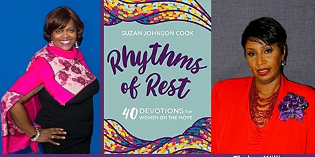 Rhythms of Rest: 40 Devotions for Women on the Move tickets