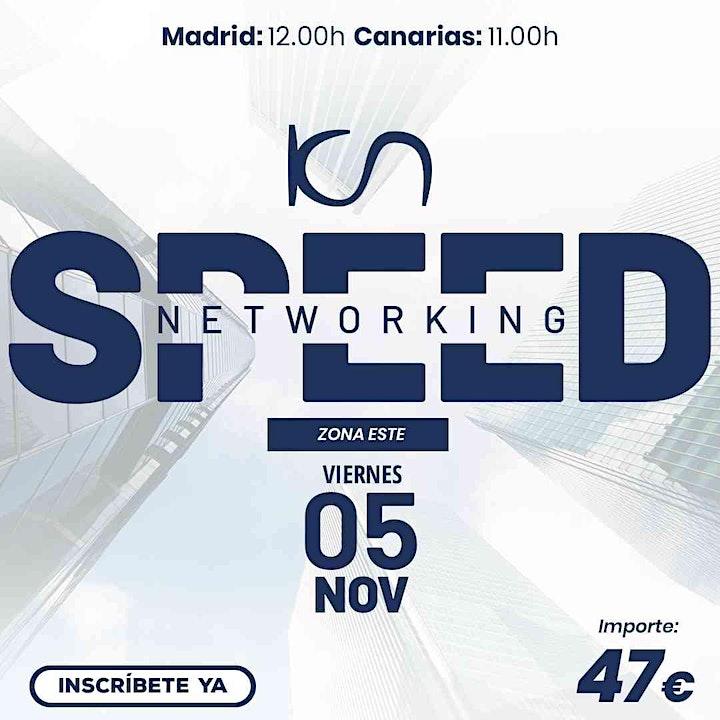 Imagen de KCN Speed Networking Online Zona Este 05 NOV