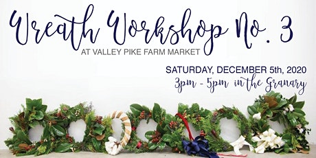 Wreath Workshop #4 tickets