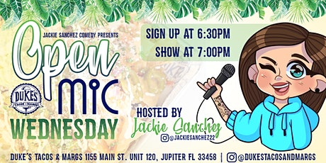 FREE Comedy Open Mic Night tickets