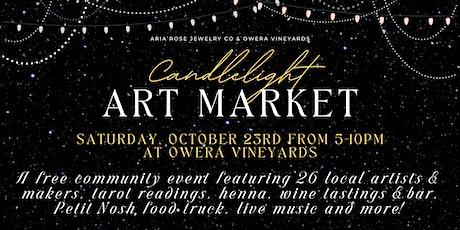 Candlelight Art Market tickets
