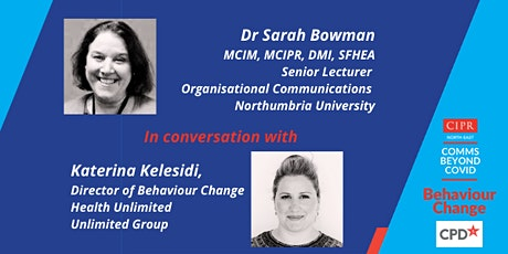 CIPR NE Comms Beyond Covid: Behaviour Change Lunch and Learn Event tickets
