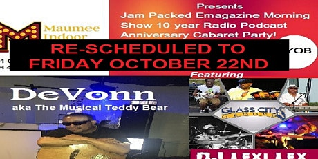 Jam Packed Emagazine Morning Show 10th anniversary & New EP Listening party tickets