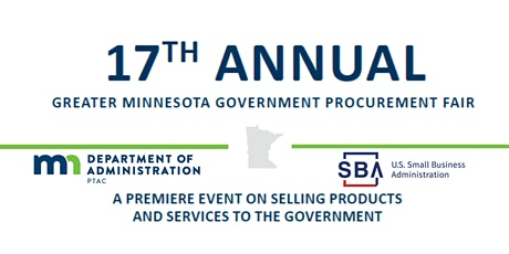 17th ANNUAL GREATER MINNESOTA GOVERNMENT PROCUREMENT FAIR (VIRTUAL) tickets