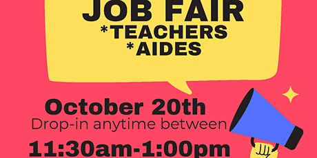 Marin County Substitute Job Fair tickets