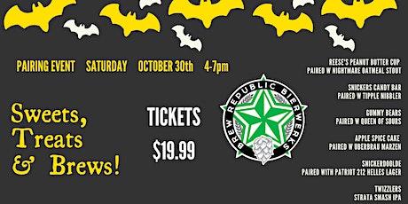 Sweets, Treats & Brews Halloween Pairing Event tickets