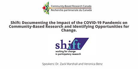 Documenting the Impact of the COVID-19 Pandemic on Community-Based Research tickets