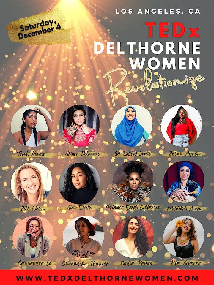TEDxDelthorneWomen: Revolutionize! image