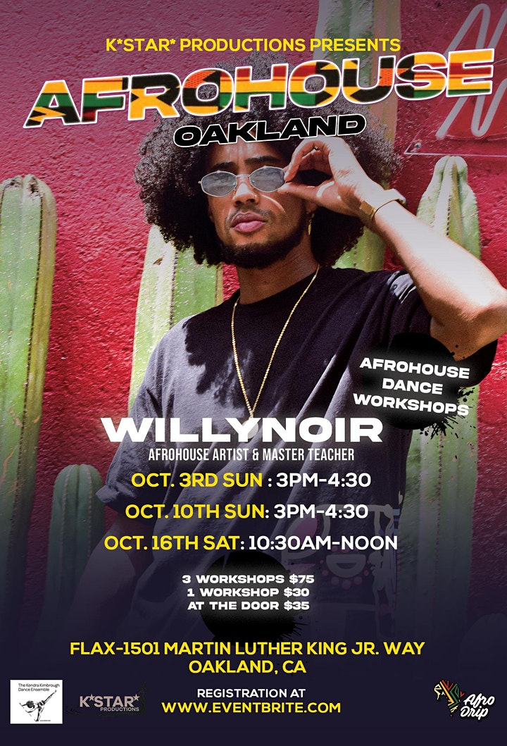Afrohouse Master Class with WillyNoir image