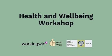 Health and Wellbeing Online Workshop tickets