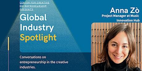 Global Industry Spotlight - Anna Zò tickets