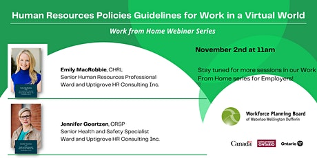 Human Resources Policies Guidelines for Work in a Virtual World tickets
