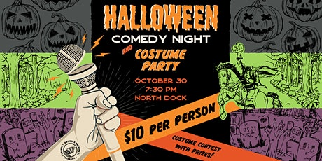 Halloween Comedy Night & Costume Party tickets