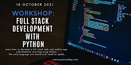 Full Stack Development with Python- Sudip Gupta, VP, Morgan Stanley tickets