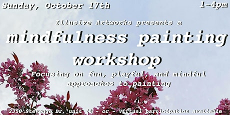 Mindfulness Painting Workshop tickets
