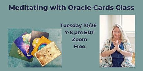 Meditating with Oracle Cards tickets