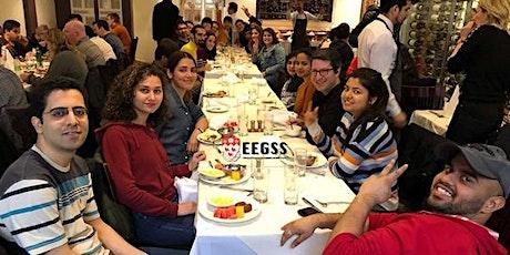 EEGSS  Graduate Students, Holiday Dinner 2021 at Le Taj restaurant billets