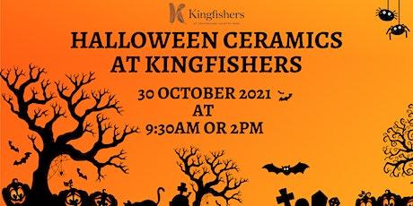 Children's Halloween Ceramics at Kingfishers tickets