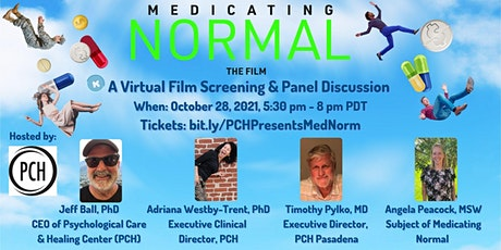 Medicating Normal Screening and Panel Discussion tickets