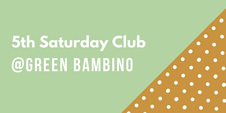 5th Saturday Club Event October 2021 tickets