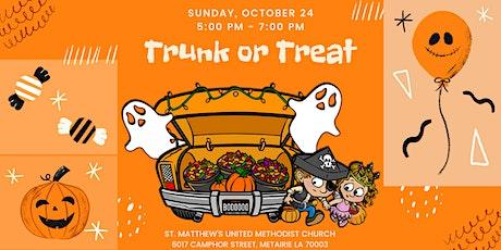 TRUNK OR TREAT 2021 - St. Matthew's United Methodist Church tickets