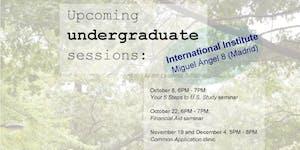 EducationUSA Spain - Undergraduate Sessions