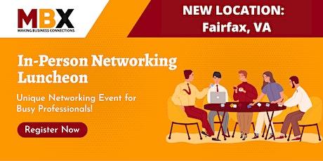 Fairfax VA  In-Person Networking Event tickets