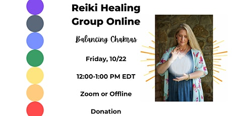 Group Reiki Healing Session - Balancing Chakras tickets
