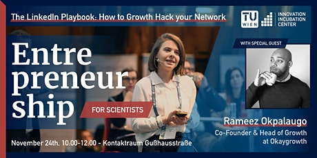 #E4s - The LinkedIn Playbook: How to growth hack your network tickets