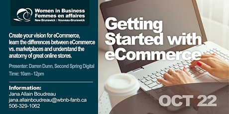 Getting Started with eCommerce/Introduction au commerce électronique tickets