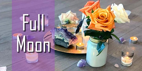 Full Moon Ceremony with Isabel Mon Oct 18, 2021 tickets