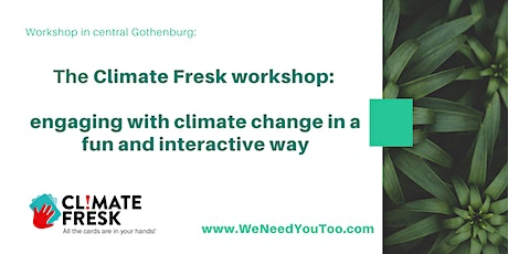 Climate Fresk: engaging with climate change in a fun and interactive way biljetter