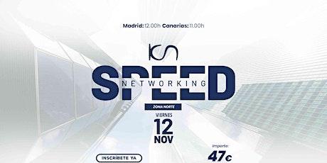 KCN Speed Networking Online Zona Norte 12 NOV entradas