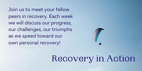 Recovery in Action, a free virtual support group from RPSV tickets