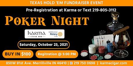 Poker Night at Karma Cigar tickets