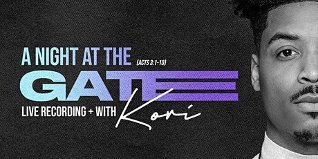 A Night at the Gate Live Recording tickets