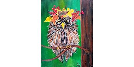 "Virtual ""Harvest Owl"" tickets"
