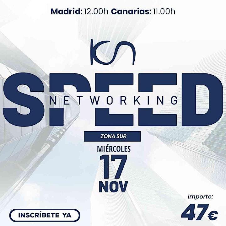 Imagen de KCN Speed Networking Online Zona Sur 17 NOV