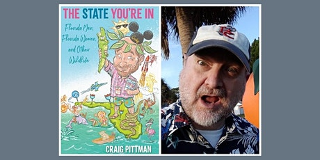 """Author Craig Pittman """"The State You're In"""" tickets"""