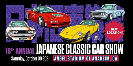 16th Annual Japanese Classic Car Show tickets
