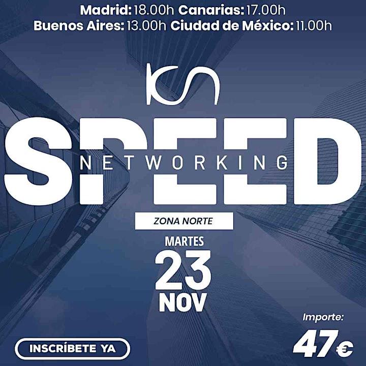 Imagen de KCN Speed Networking Online Zona Norte 23 NOV