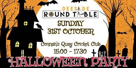 Deeside Round Table Halloween Kids Party tickets