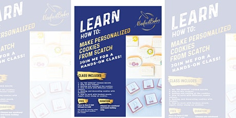 Personalised  Cookie Decorating Class tickets