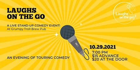 Laughs on The Go at Grumpy Troll Brew Pub - A Live Stand Up Comedy Event tickets