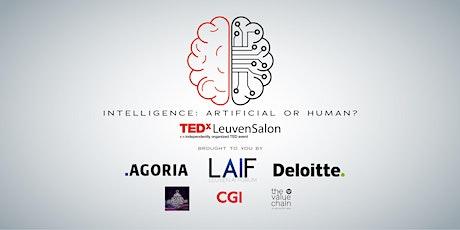 TEDxLeuvenSalon: Intelligence - Artificial or Human tickets