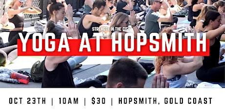 Yoga at Hopsmith   Gold Coast tickets