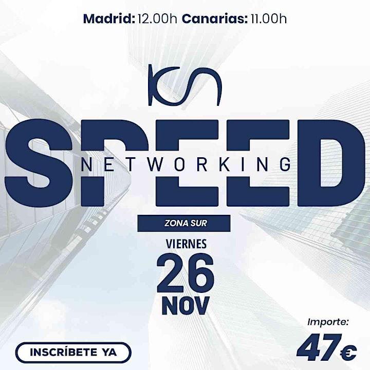 Imagen de KCN Speed Networking Online Zona Sur 26 NOV