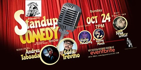 Diggers Presents Stand Up Comedy Headlining Andres Taboada tickets