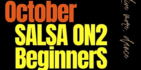 Beginner Salsa on2  Wednesday nights tickets